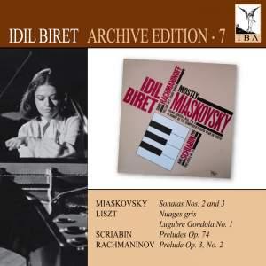 Idil Biret Archive Edition Volume 7 - Miaskovsky, Liszt, Scriabin & Rachmaninov Product Image