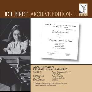 Idil Biret Archive Edition Volume 11 - Saygun, Françaix, Alkan & Balakirev Product Image