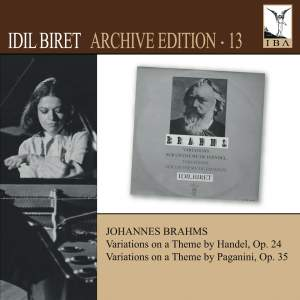 Idil Biret Archive Edition Volume 13 - Brahms