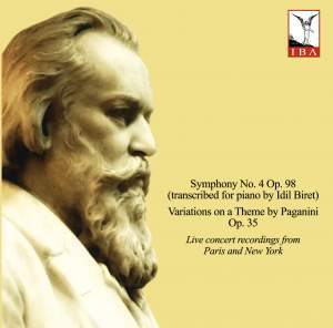 Brahms: Symphony No. 4 & Variations on a Theme by Paganini