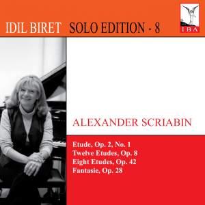Idil Biret Solo Edition 8 - Scriabin