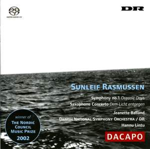Rasmussen: Symphony No. 1 & Saxophone Concerto Product Image