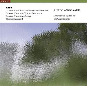 Langgaard - Symphonies Nos. 15 and 16 Product Image