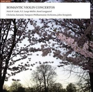 Romantic Violin Concertos Product Image