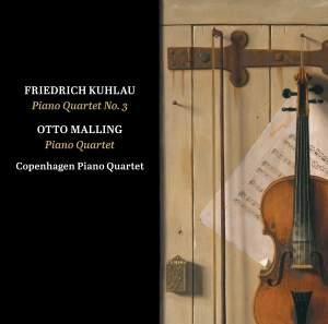 Kuhlau: Piano Quartet in G Minor, Op. 108 - Malling: Piano Quartet in C Minor, Op. 80 Product Image