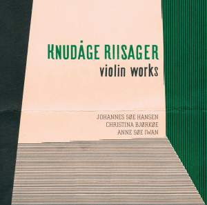 Riisager: Violin Works Product Image