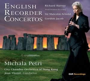 English Recorder Concertos Product Image