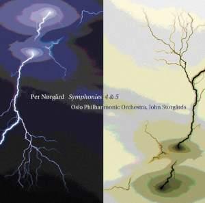 Per Nørgård: Symphonies Nos. 4 & 5 Product Image