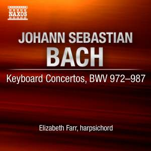 Bach - Concertos for Solo Harpsichord (Complete) Product Image
