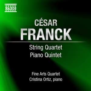 Franck - String Quartet & Piano Quintet Product Image
