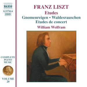 Liszt: Complete Piano Music Volume 20 Product Image