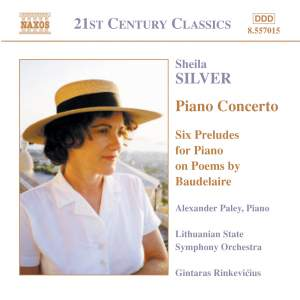 Sheila Silver: Piano Concerto and Six Preludes Product Image