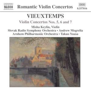 Vieuxtemps: Violin Concertos Nos. 5, 6 & 7