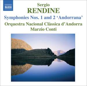 Rendine: Symphonies Nos. 1 and 2 Product Image