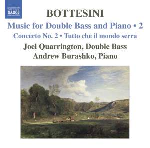 Bottesini - Music for Double Bass and Piano Volume 2 Product Image