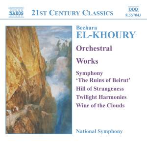 El-Khoury: Symphonie 'Les ruines de Beyrouth' (The Ruins of Beirut) Op. 37, etc. Product Image