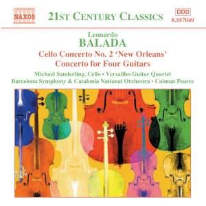 Balada: Cello Concerto No. 2, etc