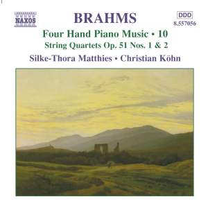 Brahms: Four Hand Piano Music, Volume 10 Product Image