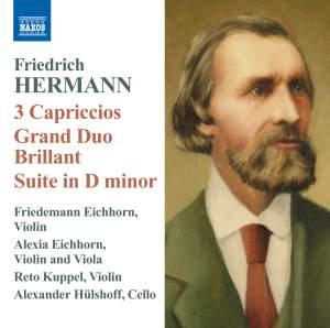 Friedrich Hermann: 3 Capriccios Product Image