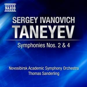 Taneyev - Symphonies Nos. 2 & 4 Product Image