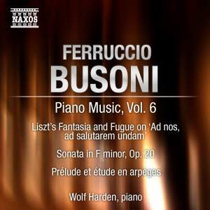 Busoni - Piano Music Volume 6 Product Image