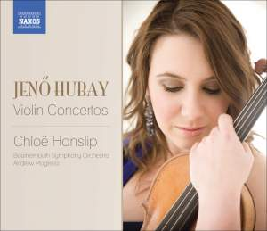 Hubay - Violin Concertos Nos. 1 and 2 Product Image