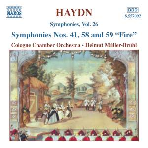 Haydn - Symphonies Volume 26 Product Image