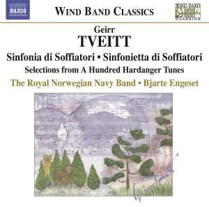 Tveitt - Music for Wind Instruments Product Image