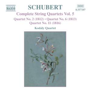Schubert - Complete String Quartets Volume 5 Product Image