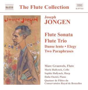 Jongen: Works for Flute