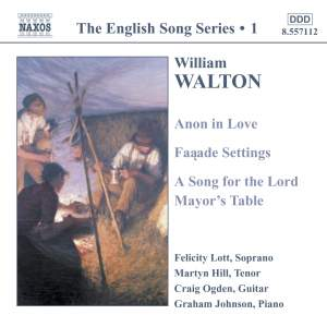 The English Song Series Volume 1 - Walton