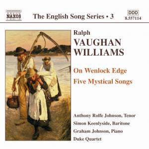 The English Song Series Volume 3 - Vaughan Williams 1 Product Image