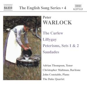 The English Song Series Volume 4 - Warlock Product Image
