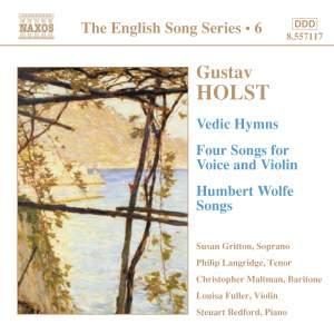 The English Song Series Volume 6 - Gustav Holst