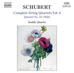 Schubert - Complete String Quartets Volume 6 Product Image