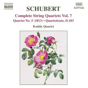 Schubert - Complete String Quartets Volume 7 Product Image