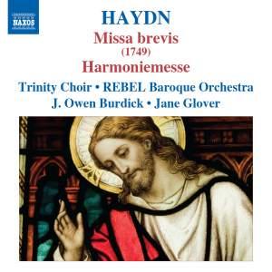 Haydn: Missa brevis (1749) & Harmoniemesse Product Image