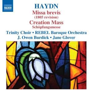 Haydn: Missa brevis (1805 revised version) & Schöpfungmesse Product Image