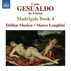 Gesualdo: Madrigali libro quarto, 1596 Product Image