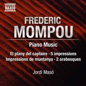 Mompou: Piano Music Product Image
