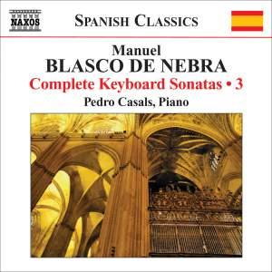 Manuel Blasco de Nebra: Complete Keyboard Sonatas Vol. 3 Product Image