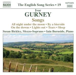 The English Song Series Volume 19 - Ivor Gurney Songs