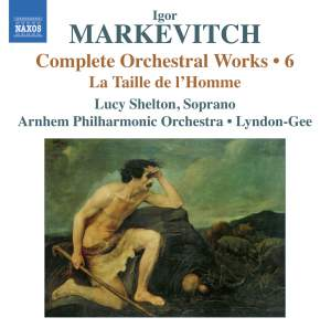 Markevitch - Complete Orchestral Works Volume 6 Product Image