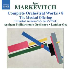 Markevitch - Complete Orchestral Works Volume 8 Product Image