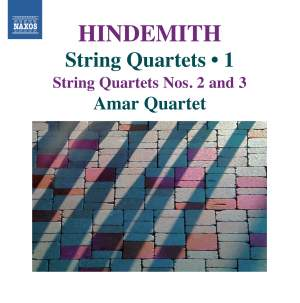 Hindemith: String Quartets Volume 1 Product Image