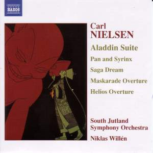 Nielsen: Aladdin Suite, Pan & Syrinx, Saga Dream & other works