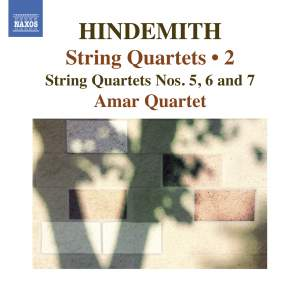 Hindemith: String Quartets Volume 2 Product Image