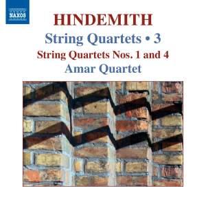 Hindemith: String Quartets Volume 3