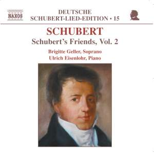 Volume 15 - Schubert's Friends Volume 2 Product Image