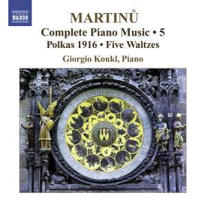 Martinu - Complete Piano Music Volume 5 Product Image